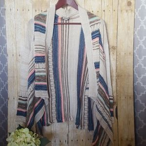 Knit sweater cardigan top. Like new. Size small.